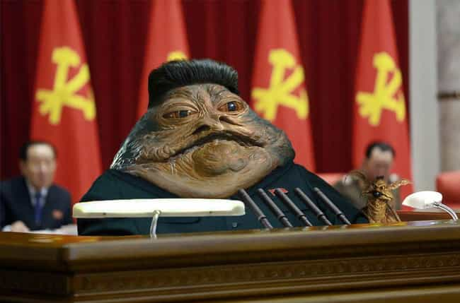 Kim Jong Hutt is listed (or ranked) 3 on the list 28 Times The Internet And Photoshop Made Star Wars Even Better