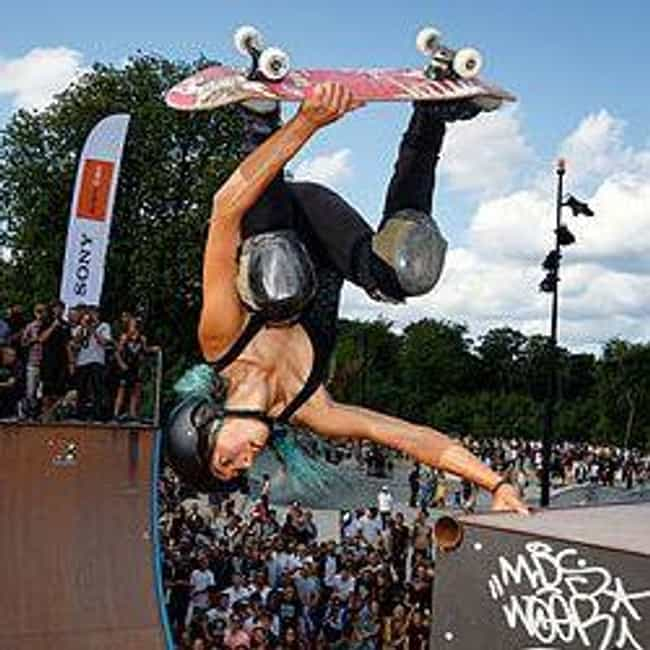 Lizzie Armanto is listed (or ranked) 1 on the list Famous Female Skateboarders