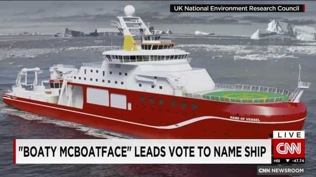 A Sinking Ship is listed (or ranked) 1 on the list 21 Hilarious Times Trolls Hijacked An Online Poll