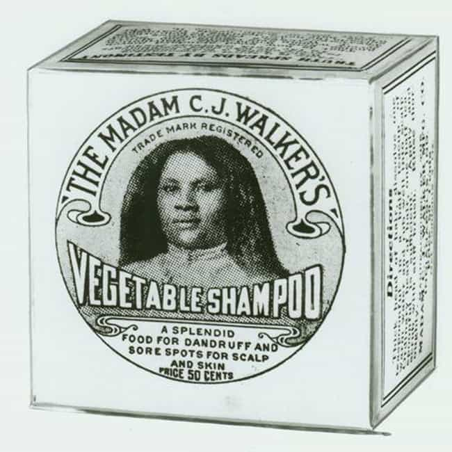 She Mass-Produced Hair Care Pr... is listed (or ranked) 3 on the list 15 Incredible Facts About Madam CJ Walker, The First American Female Millionaire