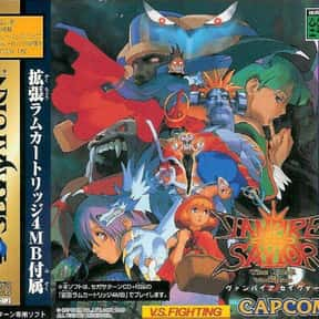 Vampire Savior is listed (or ranked) 1 on the list The Best Sega Saturn Fighting Games