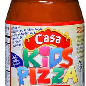 Casa Visco Kids Pizza Sauce is listed (or ranked) 5 on the list The Best Pizza Sauce