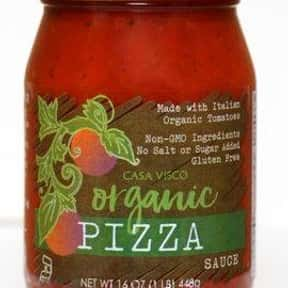 Casa Visco Organic Pizza Sauce is listed (or ranked) 3 on the list The Best Pizza Sauce