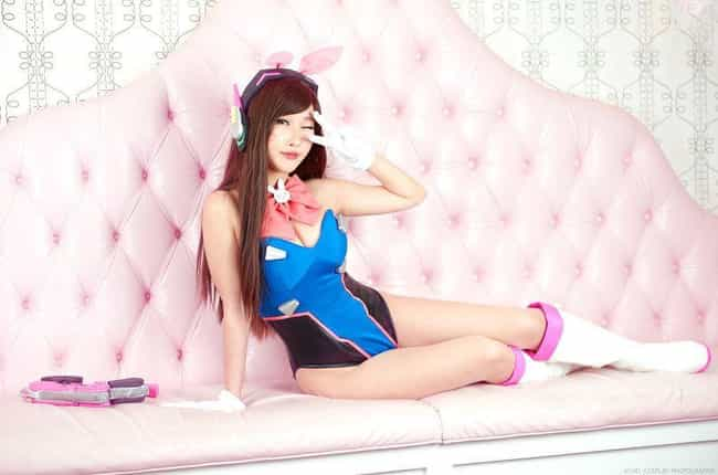 Bunny D.Va is listed (or ranked) 4 on the list Spot-On Sexy Overwatch Cosplays