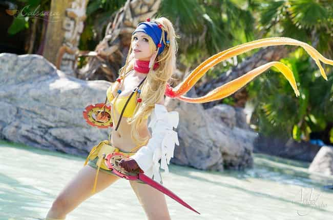Rikku Thief - Final Fantasy X-... is listed (or ranked) 1 on the list 27 Final Fantasy Cosplayers Who Stepped Right Out Of Your PlayStation