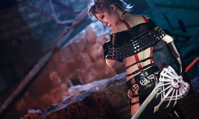 Paine - Final Fantasy X-... is listed (or ranked) 4 on the list 27 Final Fantasy Cosplayers Who Stepped Right Out Of Your PlayStation