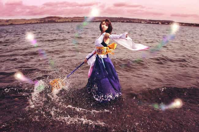 Summoner Yuna - Final Fa... is listed (or ranked) 2 on the list 27 Final Fantasy Cosplayers Who Stepped Right Out Of Your PlayStation