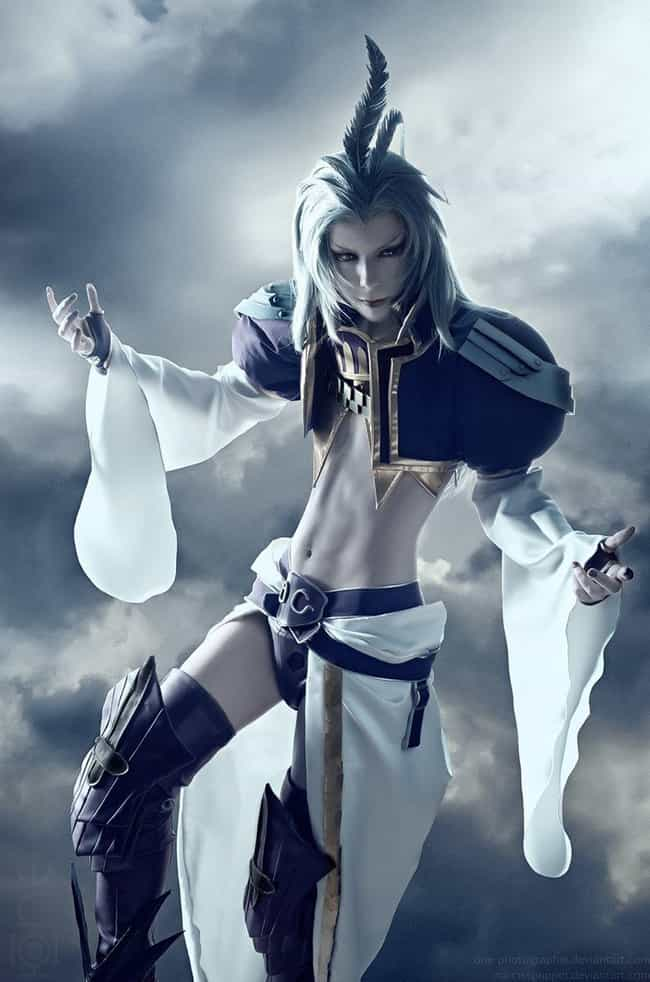 Kuja - Final Fantasy IX ... is listed (or ranked) 3 on the list 27 Final Fantasy Cosplayers Who Stepped Right Out Of Your PlayStation