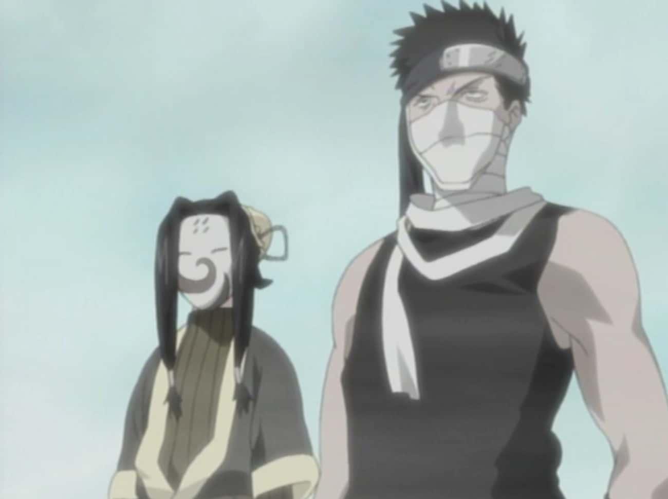 Haku And Zabuza - Naruto
