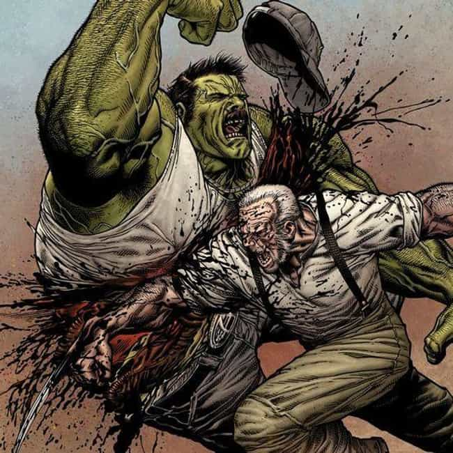 A Family Of Hillbilly Hu... is listed (or ranked) 1 on the list 13 Crazy Things From Old Man Logan Comic That Definitely Won't Be In The Movie