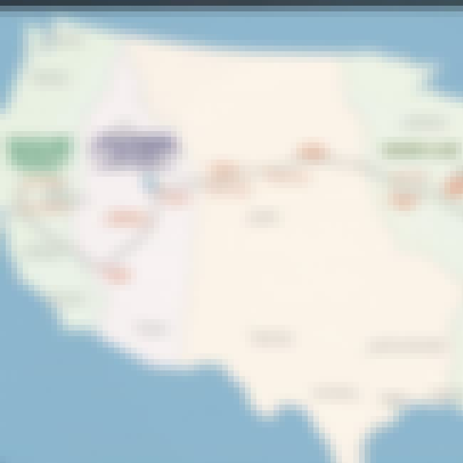 The New Map Of The USA is listed (or ranked) 3 on the list 13 Crazy Things From Old Man Logan Comic That Definitely Won't Be In The Movie