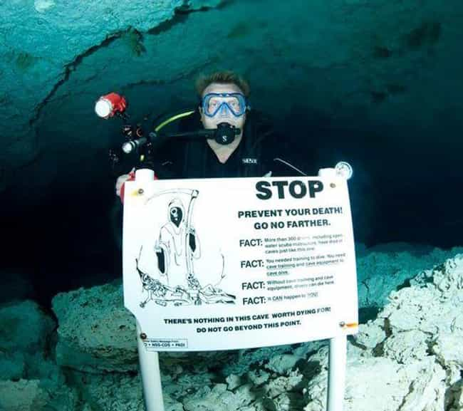 Hope: Abandon It Here is listed (or ranked) 2 on the list 20 Beyond Creepy Cave Photos That Will Trigger Your Speluncaphobia