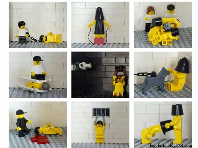 Abu Ghraib Prisoner Abuse And ... is listed (or ranked) 3 on the list Horrifying Historical Scenes You Won't Believe Anyone Re-Created In Lego
