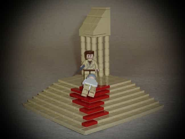 Ides Of March, 44 BCE is listed (or ranked) 4 on the list Horrifying Historical Scenes You Won't Believe Anyone Re-Created In Lego