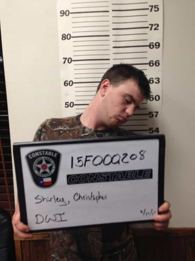 DWI: Who Would've Guessed? is listed (or ranked) 2 on the list 24 Mugshots That Could Have Only Happened In Texas