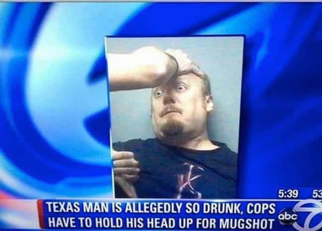 He Gets By With A Little... is listed (or ranked) 1 on the list 24 Mugshots That Could Have Only Happened In Texas