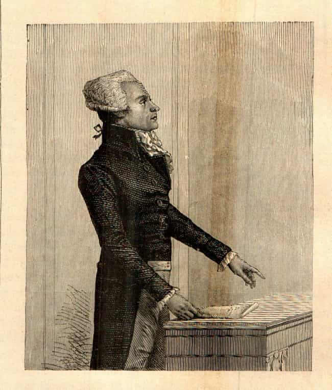 He Suspended Trials To Increas... is listed (or ranked) 4 on the list 13 Brutal, Deranged Facts About Maximilien Robespierre, France's Worst Ruler