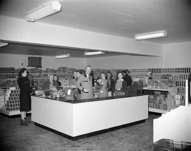 A Grocery Store In Vanco... is listed (or ranked) 4 on the list 30 Vintage Photos Of Grocery Stores That Are Beyond Fascinating