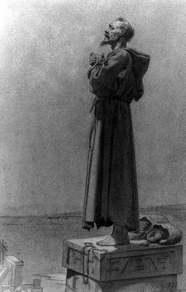St. Simeon The Stylite L... is listed (or ranked) 3 on the list Ancient and Medieval Saints Who Tested Themselves In Bizarre And Disgusting Ways