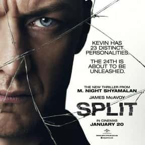 Split is listed (or ranked) 8 on the list The Best Thriller Movies with a Hostage