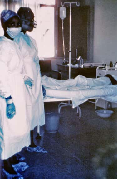 You'll Probably Be Infecte is listed (or ranked) 1 on the list What It's Like to Die from Ebola