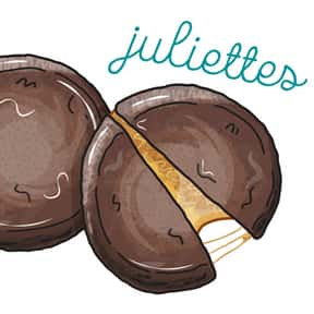 Juliettes is listed (or ranked) 11 on the list The Most Delicious Girl Scout Cookies, Ranked