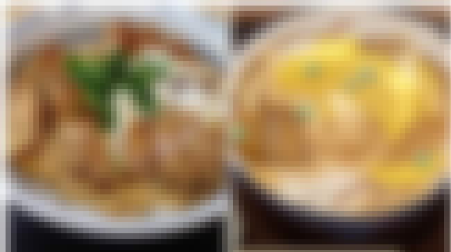 Katsudon (Pork Cutlet Bowl) is listed (or ranked) 4 on the list Mouthwatering Japanese Foods Your Favorite Anime Characters Are Eating