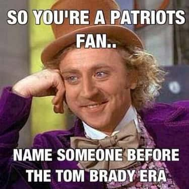 How To Silence A Patriots Fan is listed (or ranked) 1 on the list Memes To Express Why Patriots Fans Are The Worst