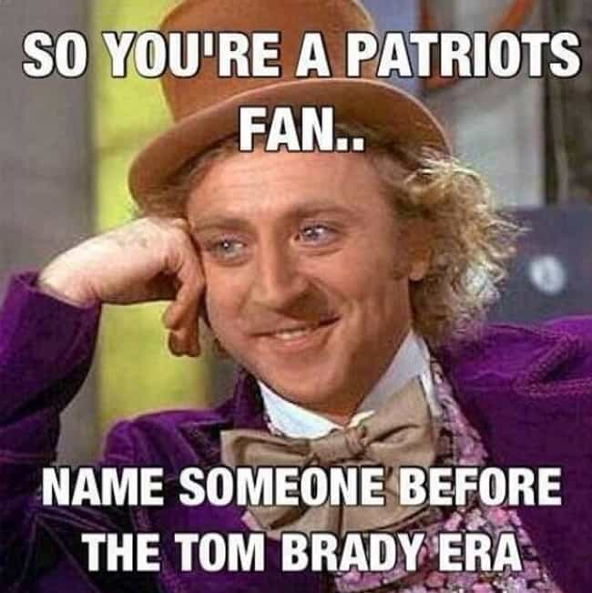 How To Silence A Patriot... is listed (or ranked) 1 on the list Memes To Express Why Patriots Fans Are The Worst