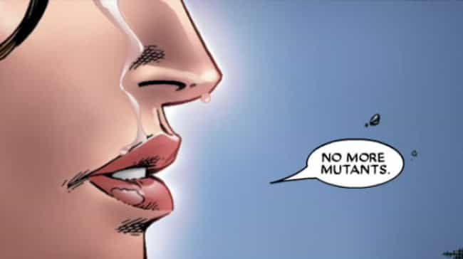 She Wiped Out An Entire ... is listed (or ranked) 1 on the list 11 Of The Craziest, Most Inexplicable Things Scarlet Witch Has Ever Done
