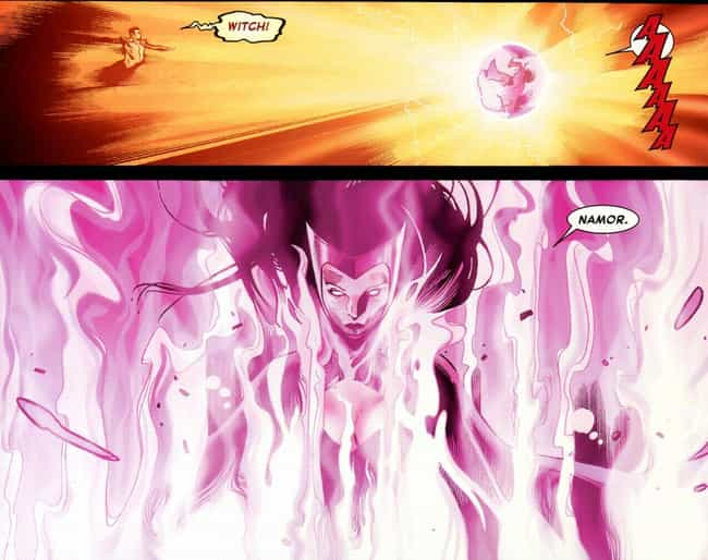 She Took Out The Phoenix... is listed (or ranked) 2 on the list 11 Of The Craziest, Most Inexplicable Things Scarlet Witch Has Ever Done