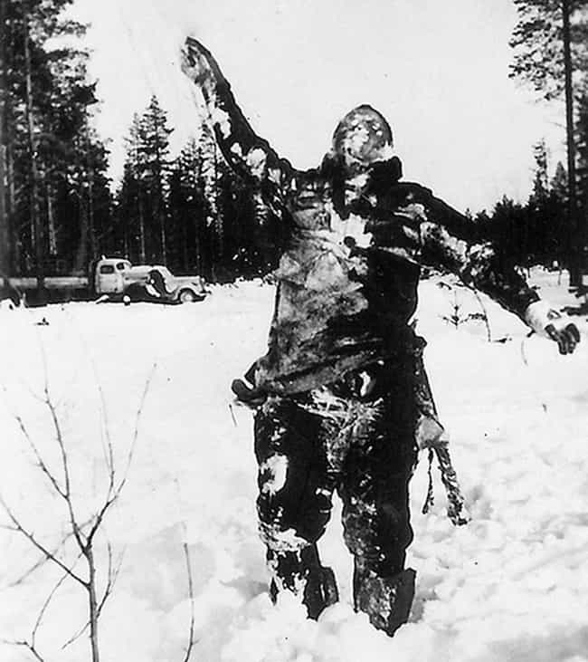 They Used Dead Bodies For Psyc... is listed (or ranked) 2 on the list 12 Incredible, Little-Known Facts About The Finnish Soldiers of World War II