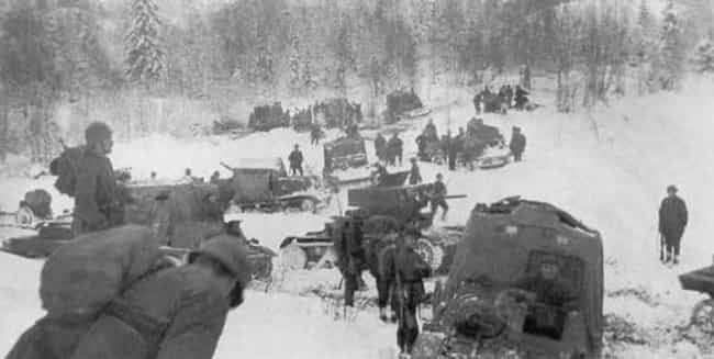 They Could Surround A Much Lar... is listed (or ranked) 4 on the list 12 Incredible, Little-Known Facts About The Finnish Soldiers of World War II