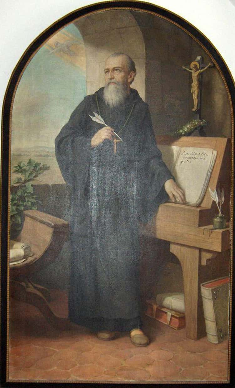 St. Benedict Skinned His Genitals In A Thorny Bush
