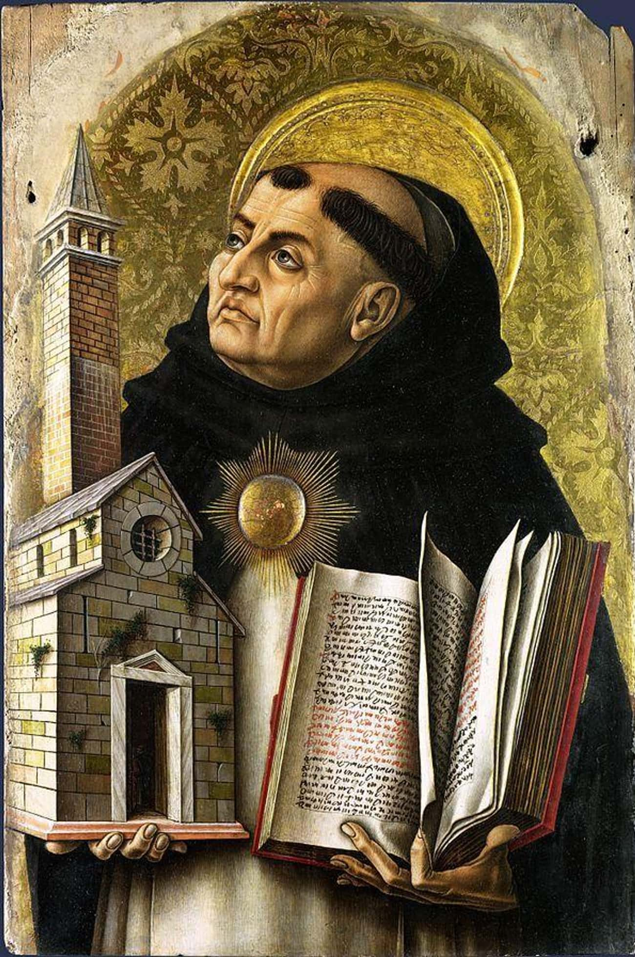 St. Thomas Aquinas Chased A Sex Worker With Fire And Crosses
