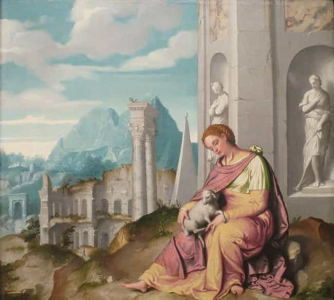 St. Agnes Was Saved From... is listed (or ranked) 4 on the list Christian Saints Who Went To Extraordinary Lengths To Stay Chaste