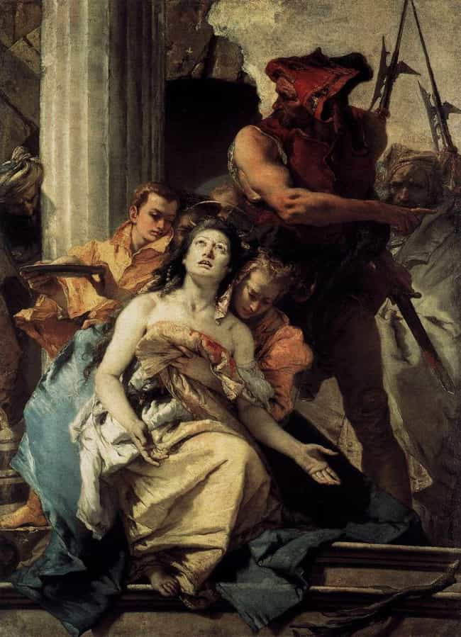 St. Agatha Had Her Breas... is listed (or ranked) 3 on the list Christian Saints Who Went To Extraordinary Lengths To Stay Chaste