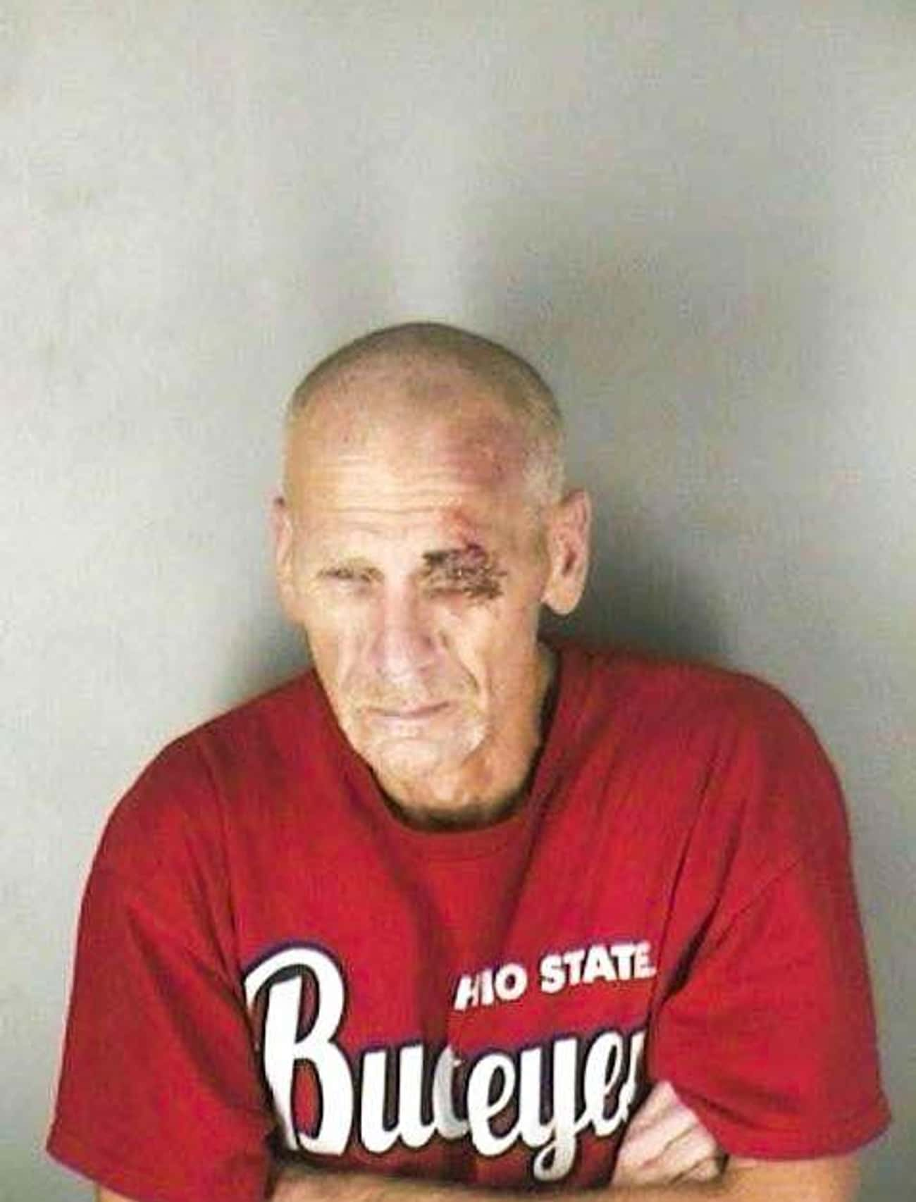 Buckeye Black Eye is listed (or ranked) 4 on the list The Greatest Football Fan Mugshots Ever
