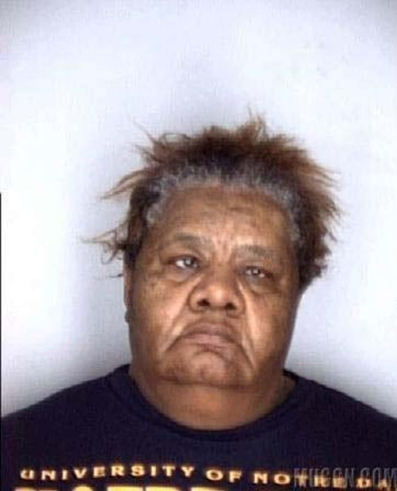 Notre Shame is listed (or ranked) 2 on the list The Greatest Football Fan Mugshots Ever