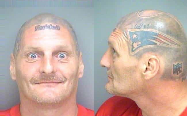 A True Patriot is listed (or ranked) 1 on the list The Greatest Football Fan Mugshots Ever
