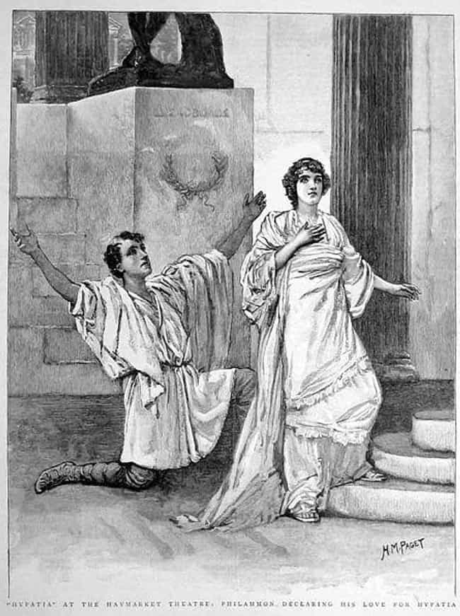 She Made Some Dangerous Friend... is listed (or ranked) 3 on the list Hypatia: The Story Of The Greek Philosopher Skinned Alive With Seashells