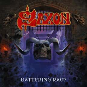 Battering Ram is listed (or ranked) 8 on the list The Best Saxon Albums of All Time