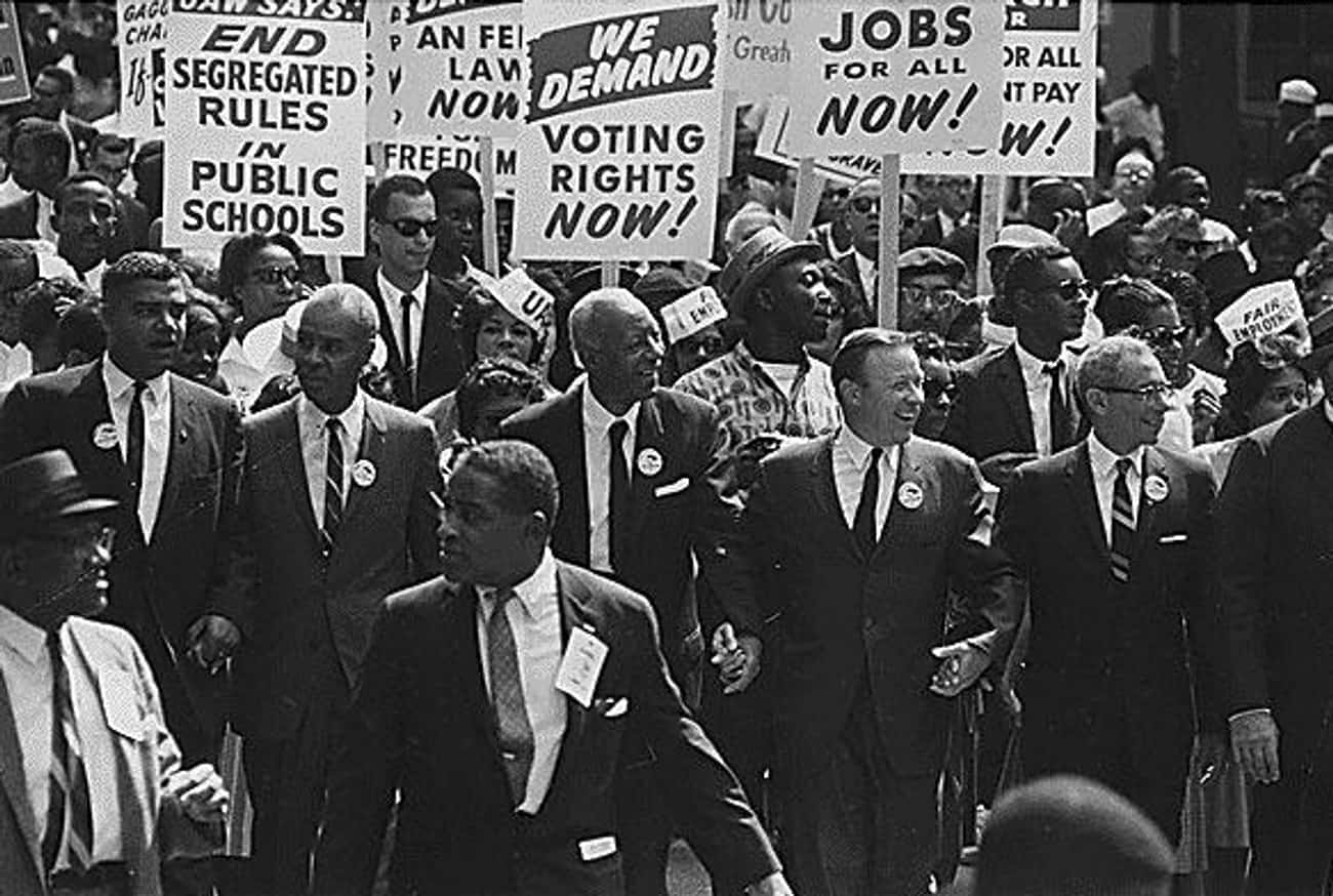 Reagan's Civil Rights Record I is listed (or ranked) 4 on the list 11 Bizarre, Messed Up Facts You Never Knew About Ronald Reagan