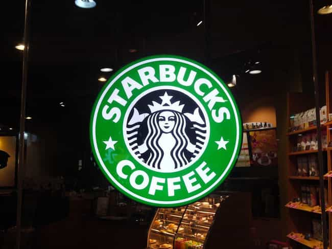 The Starbucks Circle is listed (or ranked) 3 on the list 14 Alleged Satanic Symbols Hiding In Plain Sight All Around You