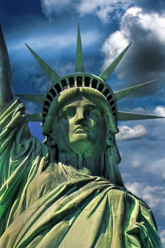 The Statue Of Liberty is listed (or ranked) 4 on the list 14 Alleged Satanic Symbols Hiding In Plain Sight All Around You