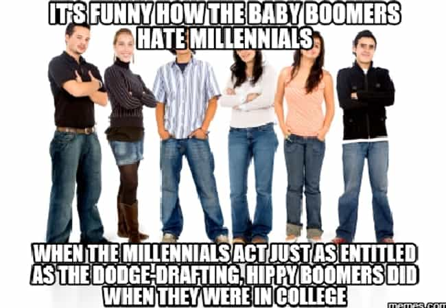 Boom! is listed (or ranked) 7 on the list Spot-On Truths About Millennials