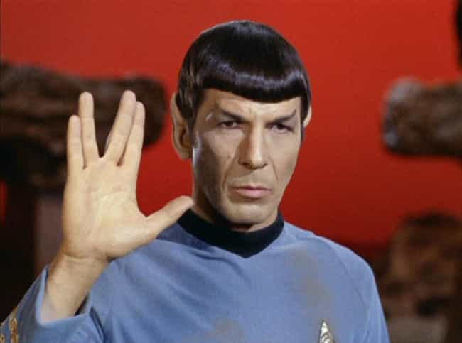 The Vulcan Salute Is Act... is listed (or ranked) 4 on the list 16 Surprising Behind-The-Scenes Facts About The Original Star Trek