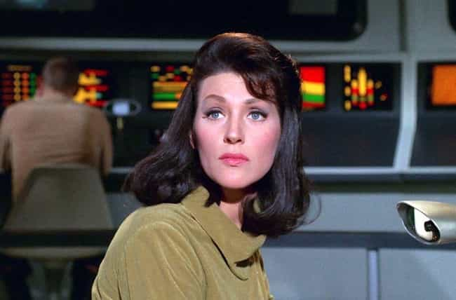 """The Original """"Number One&#... is listed (or ranked) 2 on the list 16 Surprising Behind-The-Scenes Facts About The Original Star Trek"""