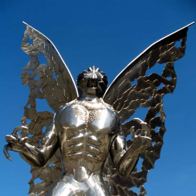 The Mothman is listed (or ranked) 1 on the list 15 Paranormal Harbingers Of Doom Seen Before Tragic Events