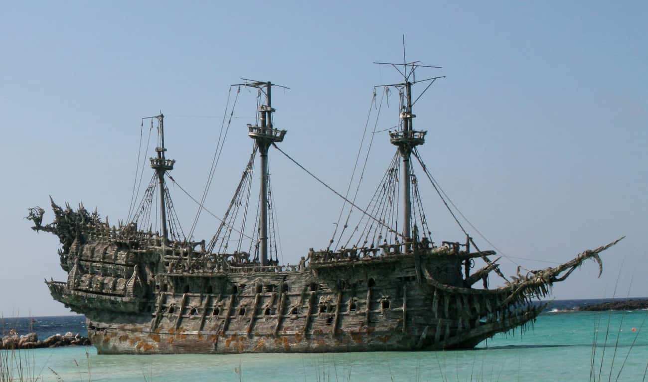 The Flying Dutchman is listed (or ranked) 4 on the list 15 Paranormal Harbingers Of Doom Seen Before Tragic Events